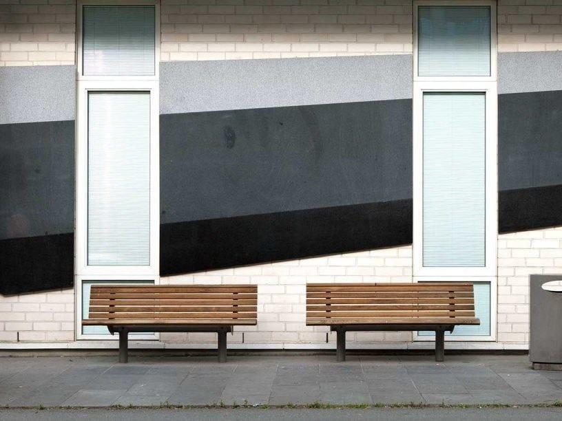 URBAN | Panchina con schienale