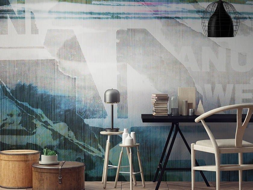 Vinyl or fyber glass wallpaper URBAN DECOLLAGE by N.O.W. Edizioni