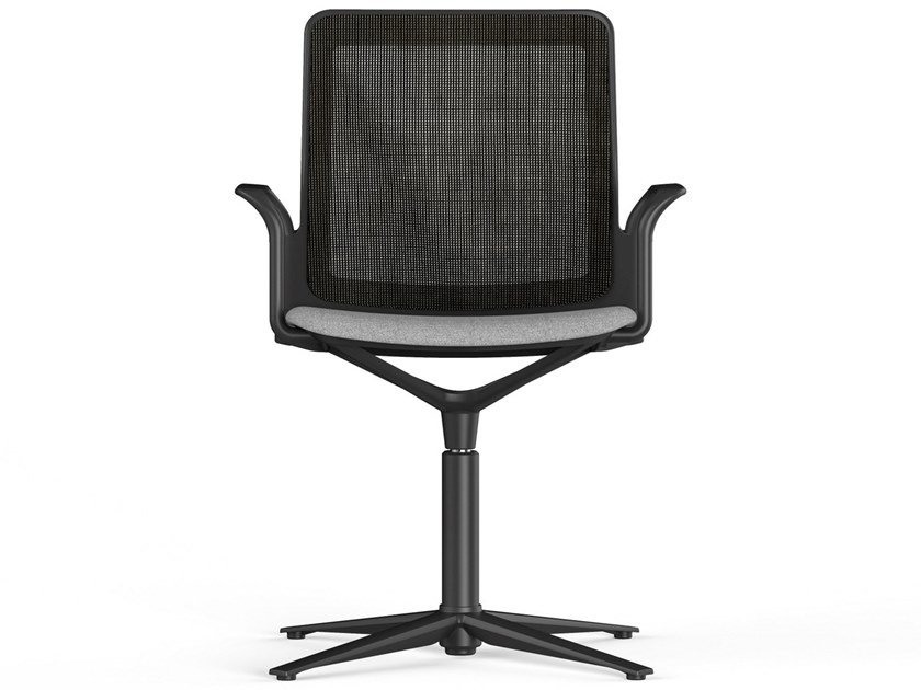 Office chair with 4-Spoke base with armrests URBAN PLUS   Office chair by ACTIU