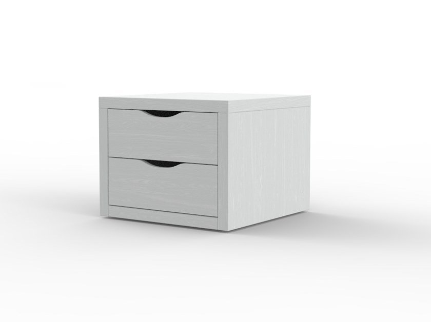 Bedside table with drawers for hotel rooms URBAN PV 09 by Mobilspazio