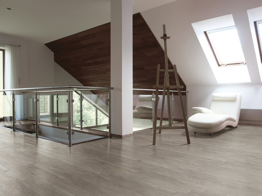 Porcelain stoneware flooring with wood effect URBAN | Flooring by Serenissima