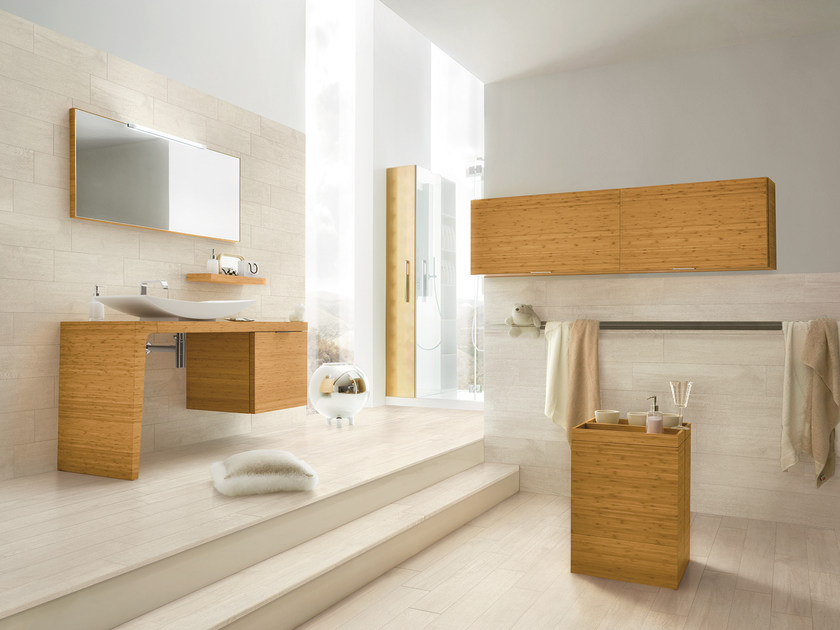 Porcelain stoneware wall tiles with wood effect URBAN | Wall tiles by Serenissima