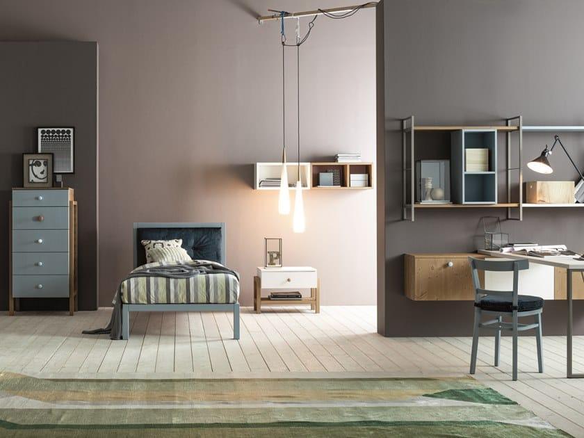 Teenage bedroom URBAN TIME 2   Bedroom set by Callesella Arredamenti