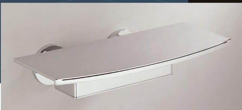 Miscelatore per vasca a cascata a muro in metallo in stile moderno con finitura lucida URBAN | Miscelatore per vasca a cascata by INTERCONTACT