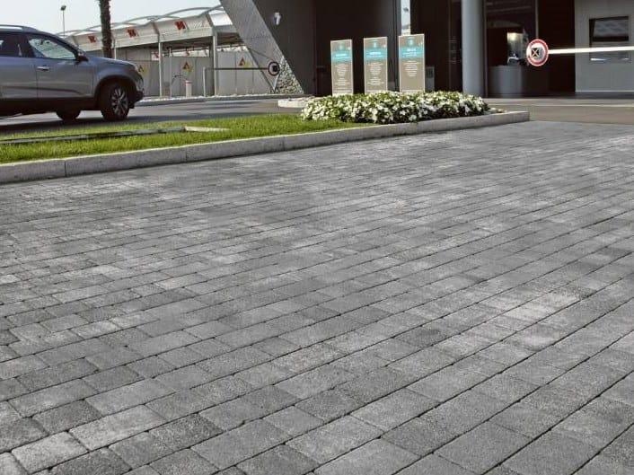 Concrete paving block URBE - DIAMANTI by RECORD - BAGATTINI