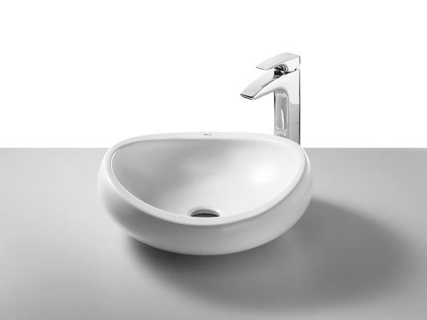 Countertop washbasin URBI 1 by ROCA SANITARIO
