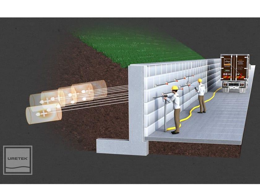Consolidación de terreno y cimentación URETEK MICROANCHORS by URETEK ITALIA