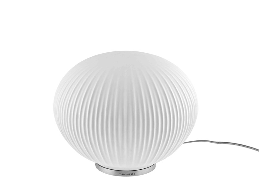 Porcelain table lamp E2H – Earth to Humanity - URQINO by Vista Alegre