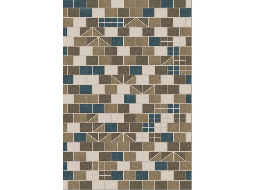 Tappeto a motivi fatto a mano in lana merino URQUINAONA by Barcelona Rugs