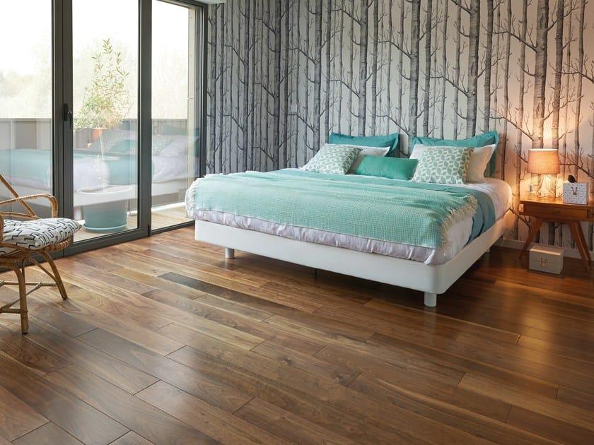 Engineered Wood Floor Us Walnut Satin Diva 139 By Panaget