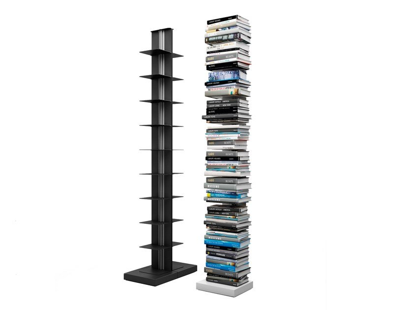 Open modular bookcase USIO | Modular bookcase by Systemtronic