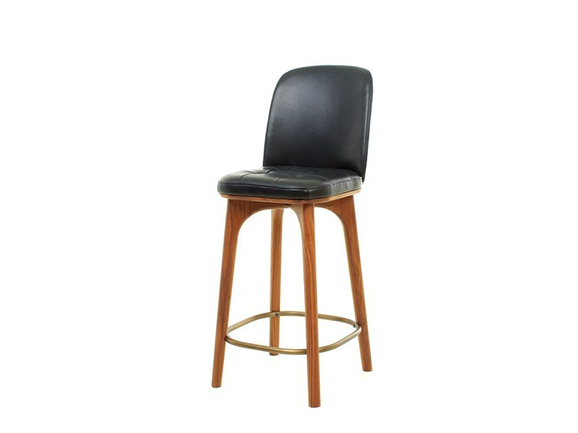 Wooden restaurant chair with footrest UTILITY HIGH CHAIR SH610 by STELLAR WORKS