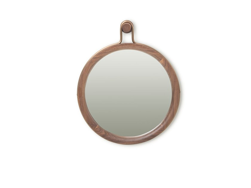 Wall Mounted Framed Round Mirror Utility Round Mirror Small Utility Collection By Stellar Works Design Neri Hu Design And Research Office