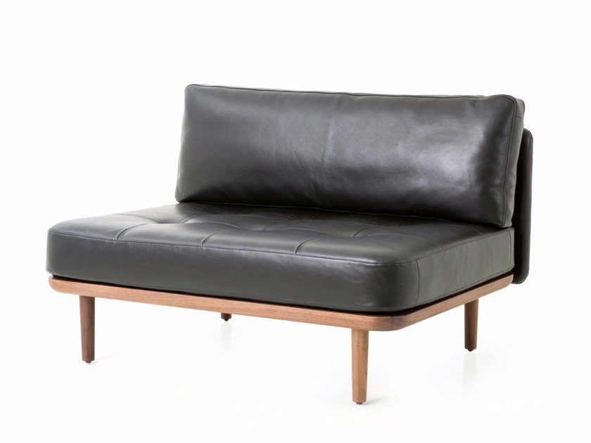 Leather Sofa Utility One Side By Stellar Works