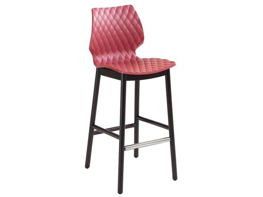 Polypropylene stool Uni 393 by Metalmobil