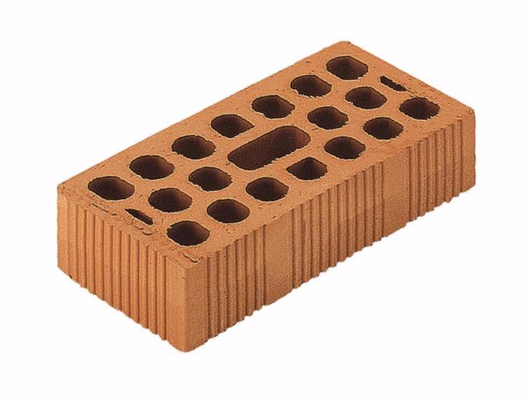 Clay building block / External masonry clay block Uni Brick 12x25x6 (45%) by Wienerberger