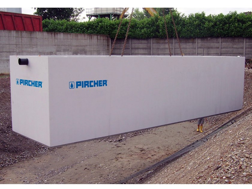 Sewage collection tank V.P.P. by Pircher