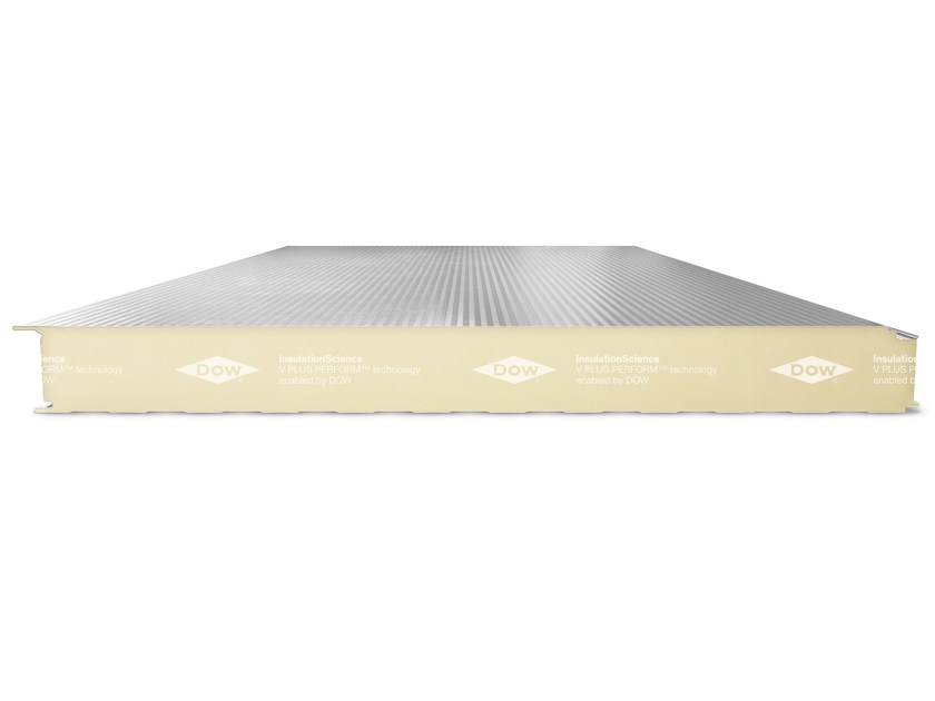 Dow insulation cores for metal sandwich panels V PLUS PERFORM™ by Dow