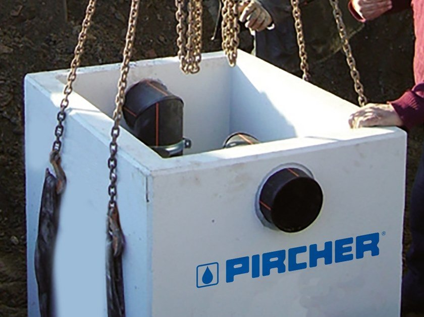Vasca raccolta fanghi rettangolare V.R.F. | Vasca fanghi rettangolare by Pircher