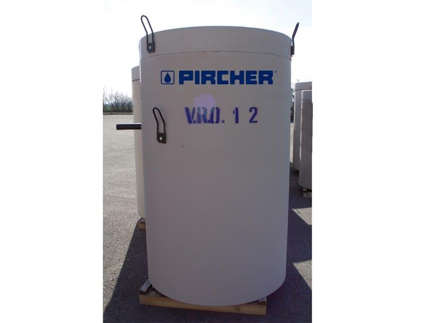 Oil separator, de-oiler and grease separator V.R.O. by Pircher