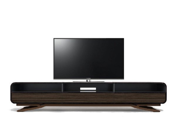 Low lacquered wooden TV cabinet V020 | TV cabinet by Aston Martin