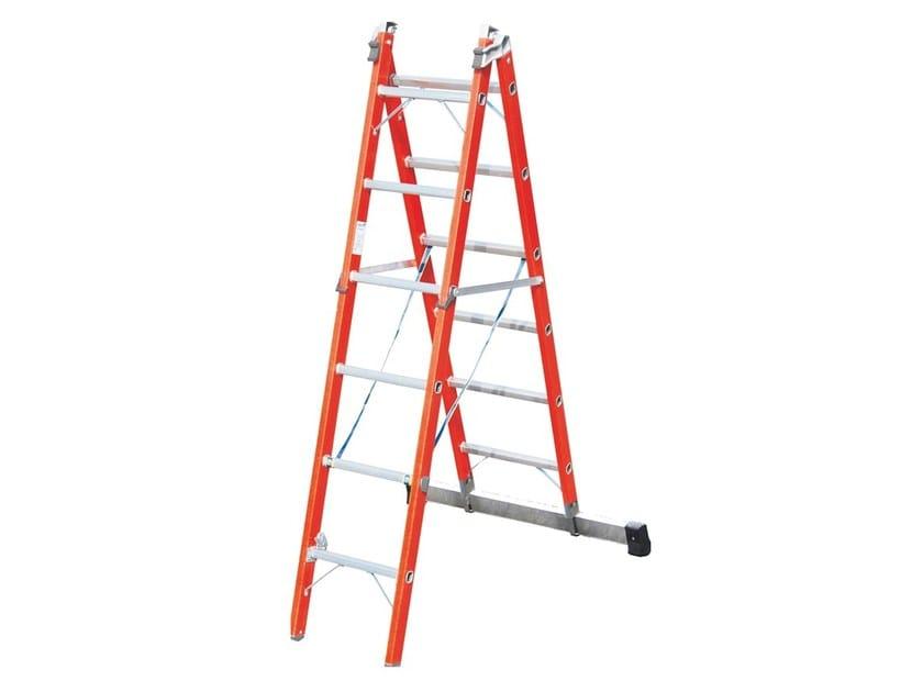 Fiberglass heavy duty ladder V045 | Heavy duty ladder by Frigerio Carpenterie