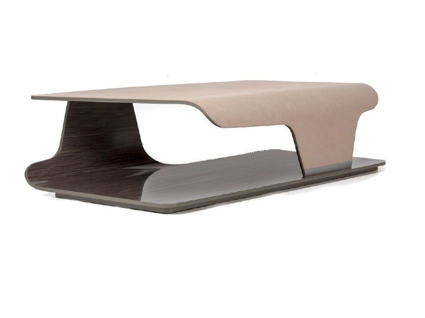 Lacquered wooden coffee table with storage space V138 | Coffee table by Aston Martin