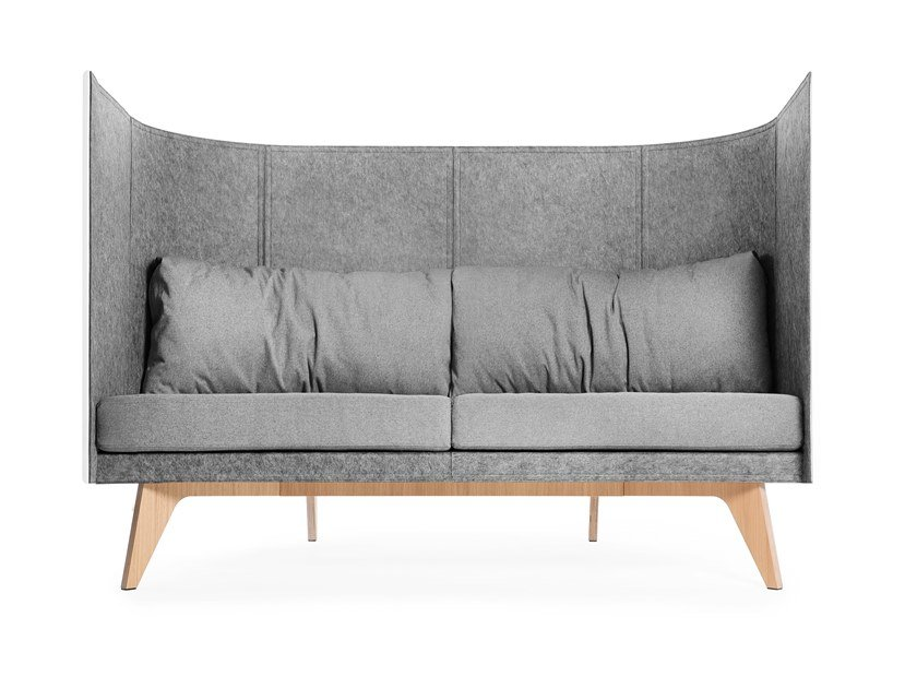 2 seater high-back sofa V2 by ODESD2