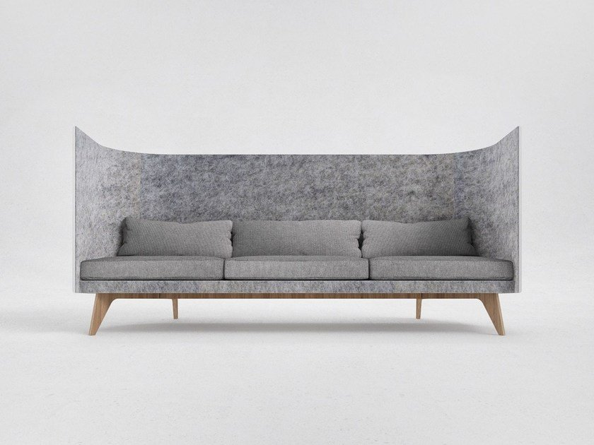 3 seater high-back sofa V3 by ODESD2