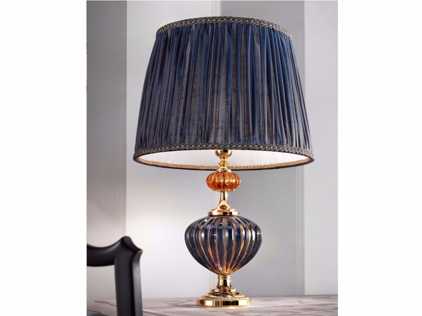 Direct light handmade incandescent Murano glass table lamp VA 1040 | Table lamp by Masiero
