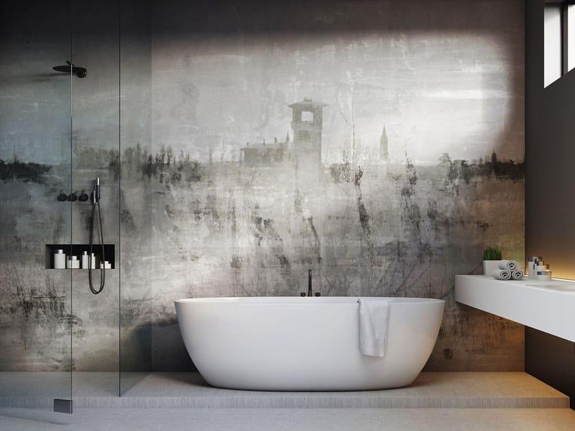Rubber Digital printing landscape wallpaper VA PENSIERO by Tecnografica Italian Wallcoverings