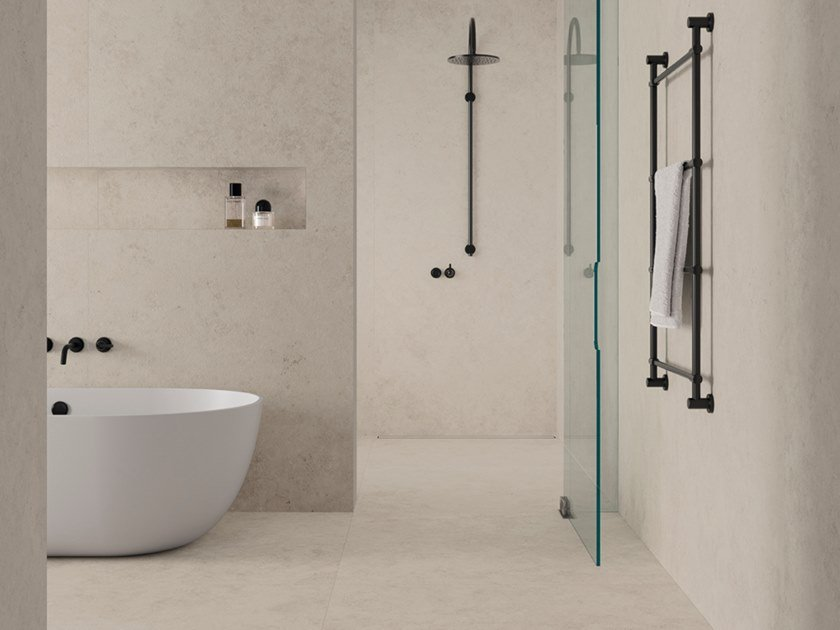 Wall/floor tiles with stone-effect pattern VALAR by Inalco