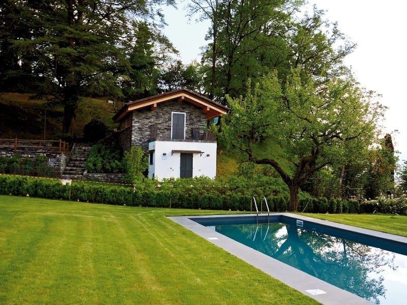 Architectural stone veneer VALDOSTANO P76 by GEOPIETRA®