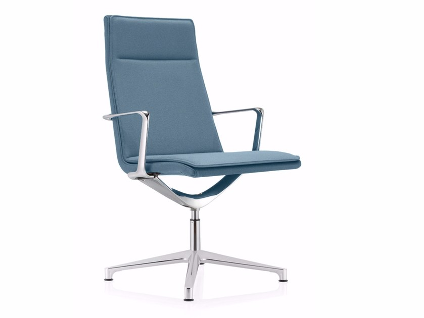 Swivel fabric task chair VALEA SOFT by ICF