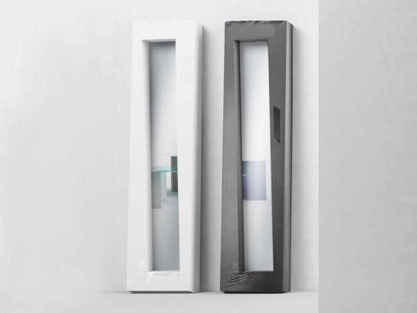 Freestanding rectangular framed mirror VALENTINO by Adriani e Rossi edizioni