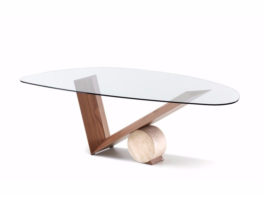 Crystal table VALENTINO | Table by Cattelan Italia
