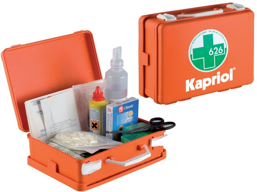 First Aid cabinets VALIGETTA PRONTO SOCCORSO ALL 2 by KAPRIOL