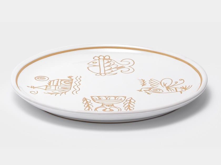 Oval ceramic tray VALLAURIS   Oval tray by Cerasarda