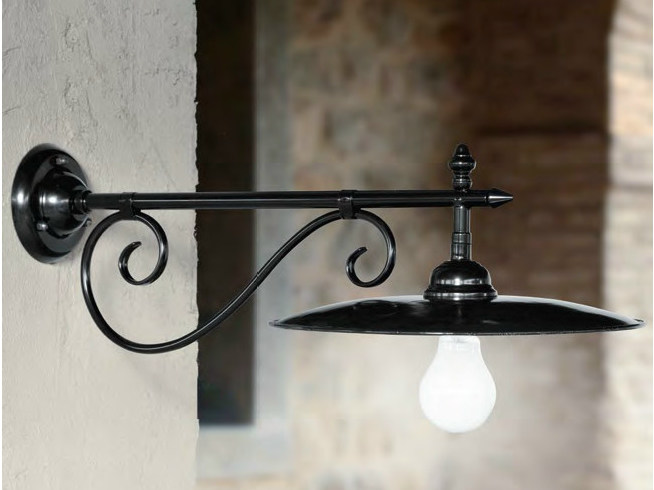 Iron wall lamp with fixed arm VALZER | Wall lamp with fixed arm by Aldo Bernardi