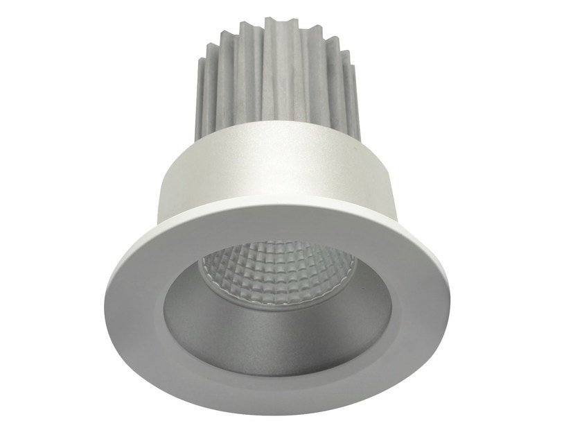 LED round recessed aluminium spotlight VAND by LED BCN