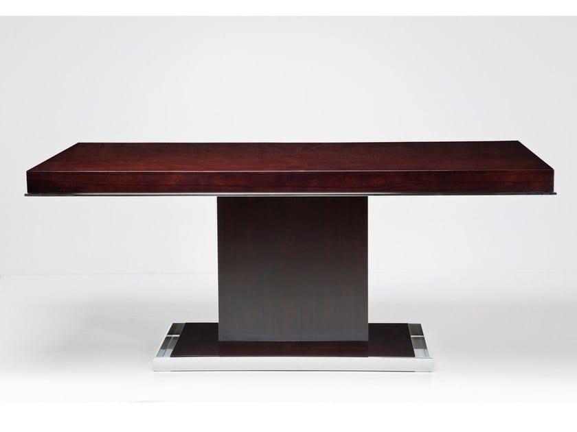 Rectangular MDF table VANITY BROWN | Table by KARE-DESIGN