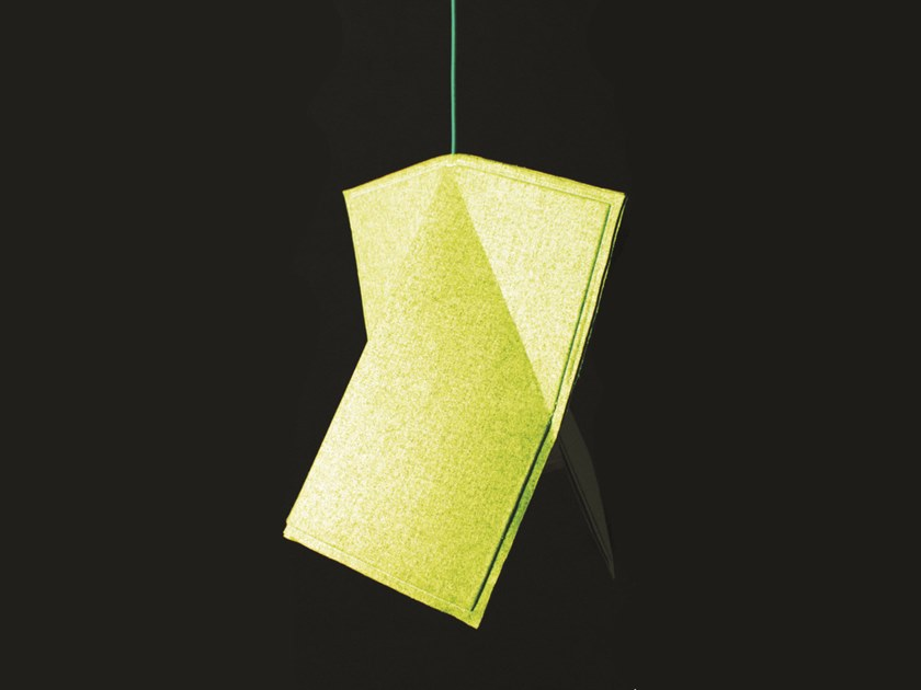 LED fabric pendant lamp VANITY   Pendant lamp by neo design studios