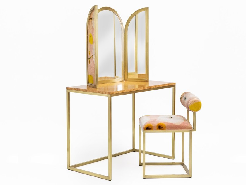 Attrayant Classic Style Metal Dressing Table VANITY TABLE By Secondome Edizioni
