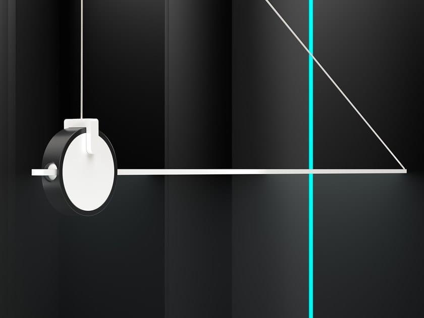 LED handmade aluminium ceiling lamp VARA | Ceiling lamp by HOLY TRINITY