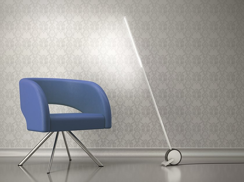 LED handmade aluminium floor lamp VARA   Floor lamp by HOLY TRINITY