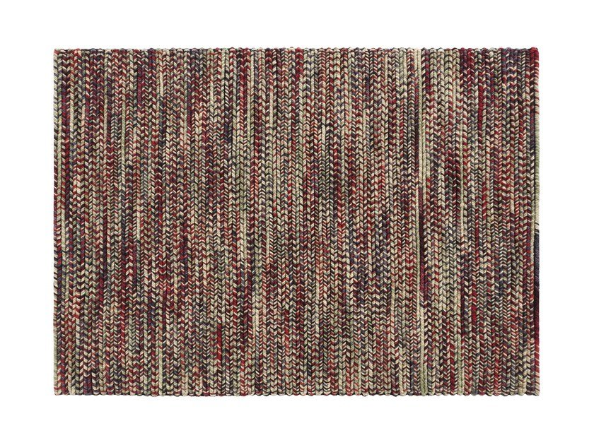 Rectangular wool rug VARESE by GAN