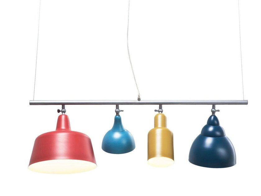 Powder coated steel pendant lamp VARIETY by KARE-DESIGN