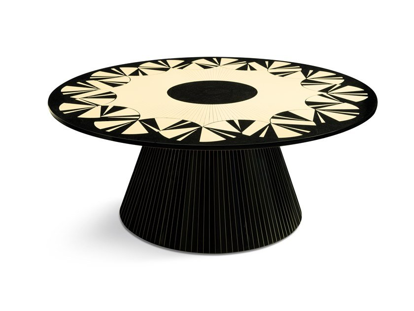 Round coffee table VARIETY by Scarlet Splendour