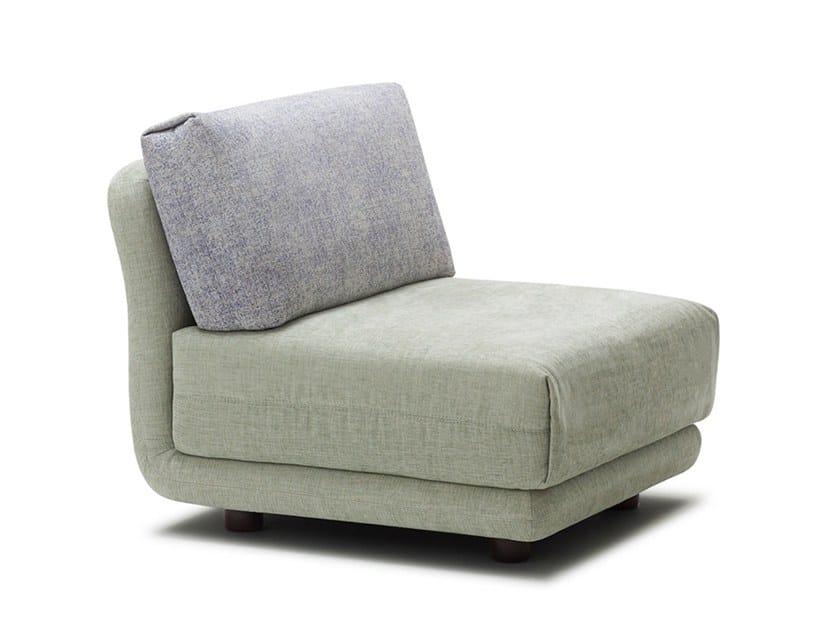 Sectional fabric armchair VARIO | Armchair by Extraform