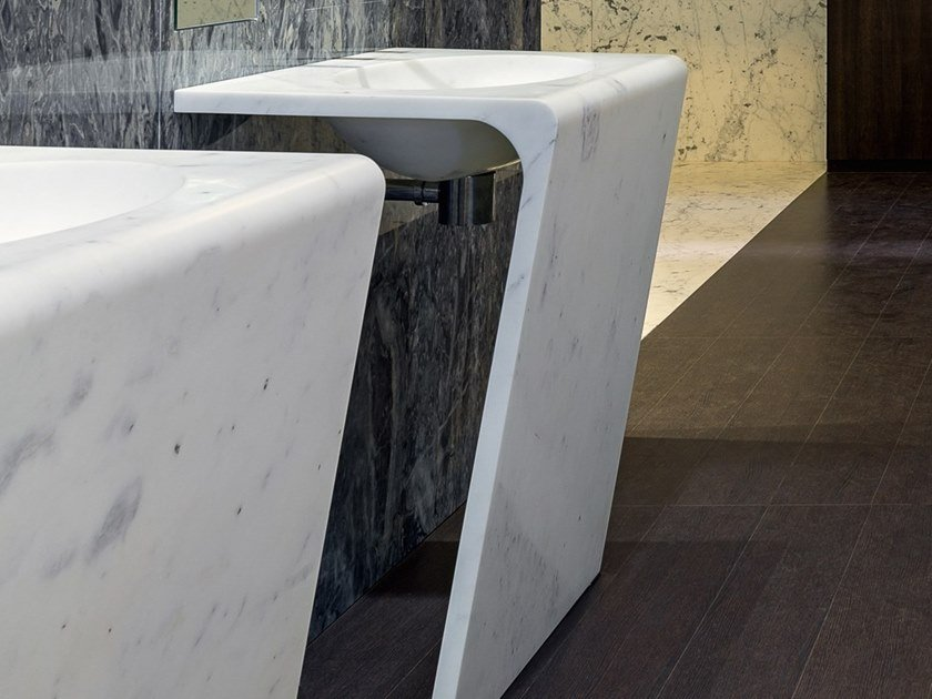 Marble washbasin VARNI by FranchiUmbertoMarmi